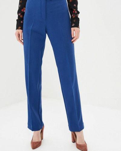 Классические брюки синие Elena Kulikova