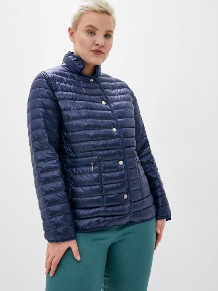 Теплая синяя утепленная куртка Malinardi