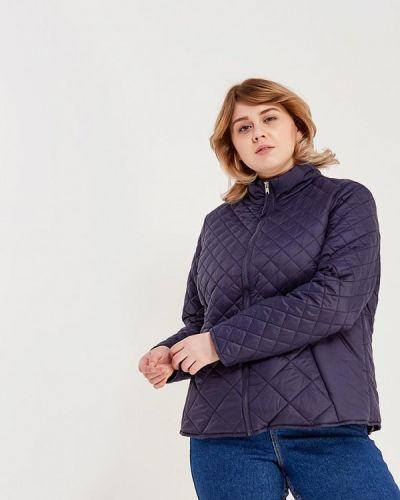 Синяя утепленная куртка Junarose