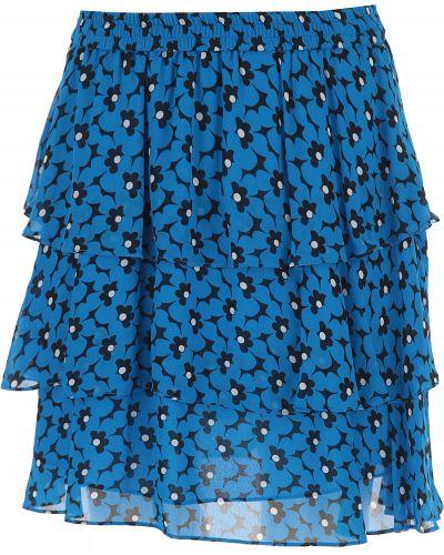 Czarna spódnica z wiskozy Michael Kors