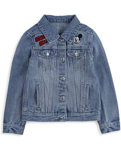 Ватная синяя джинсовая куртка для беременных Levi's®