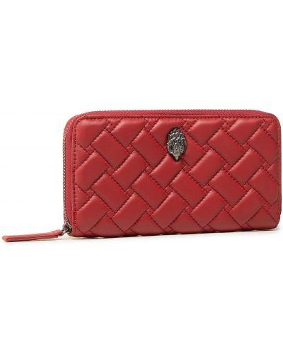 Czerwony portfel oversize Kurt Geiger