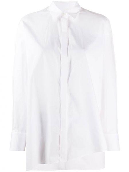 Klasyczna koszula biała z długim rękawem Enfold