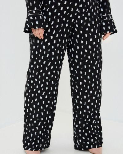 Прямые черные брюки Ulla Popken