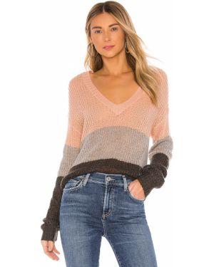 Sweter akrylowy otwarty Wildfox Couture