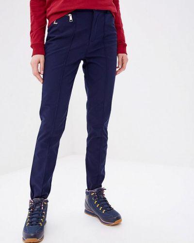 Синие брюки повседневные Luhta