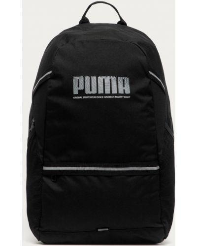 Czarny plecak z printem Puma