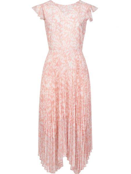 Свободное розовое платье Markus Lupfer