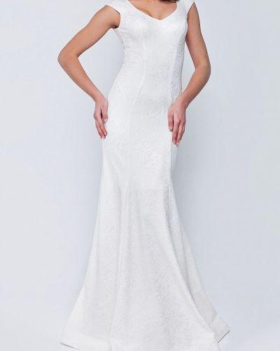 Белое вечернее платье Ricamare