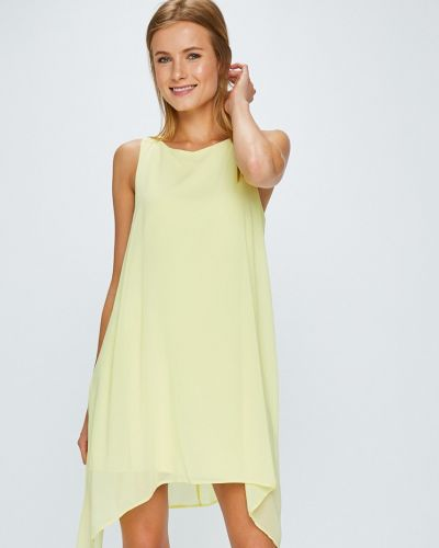 Платье мини в полоску свободного кроя Answear