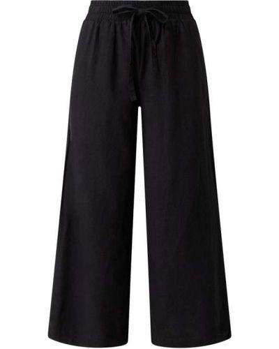 Czarne spodnie z wiskozy Soyaconcept