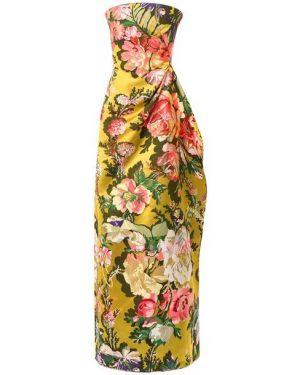 Платье макси Dries Van Noten