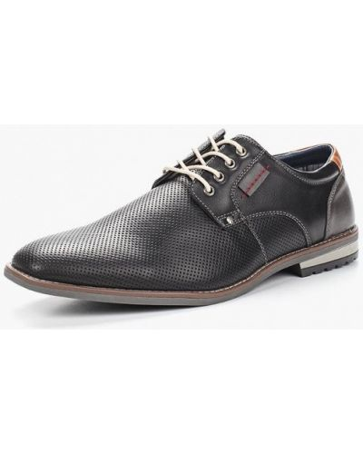 Черные туфли из искусственной кожи Elong