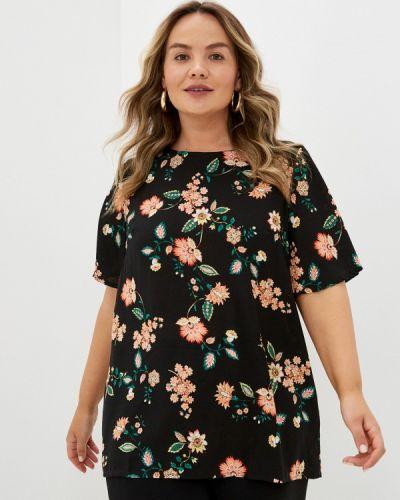 Черная весенняя блузка Prewoman