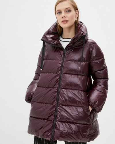 Красная зимняя куртка Add