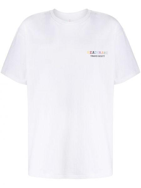 Koszula krótkie z krótkim rękawem prosto z logo Readymade