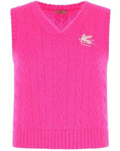 Kamizelka sportowa - różowa Etro