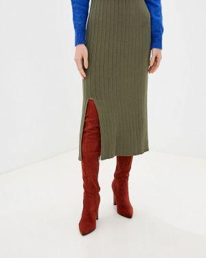 Платье осеннее хаки Dali