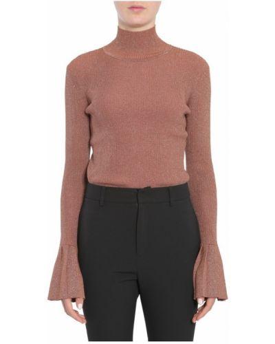Sweter - brązowy Carven