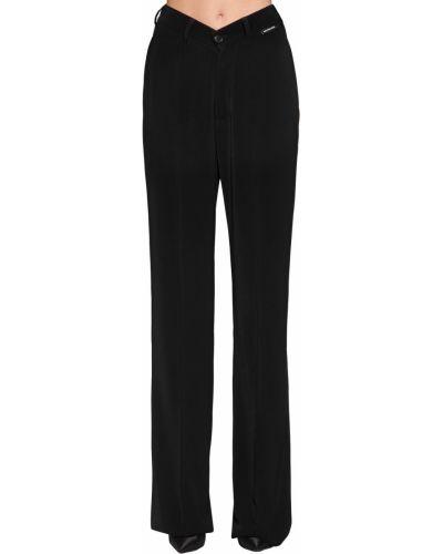 Свободные брюки с карманами с поясом Balenciaga