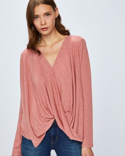 Блузка с запахом с вырезом Vila