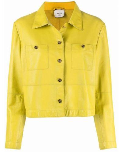 Żółta kurtka Alysi