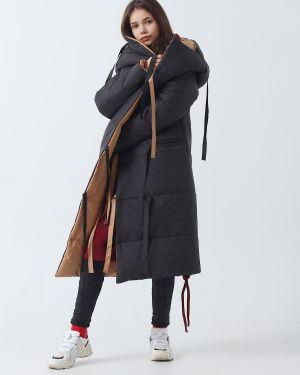 Пальто с капюшоном Hochusebetakoe