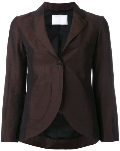 Пиджак льняной темно-коричневый SociÉtÉ Anonyme