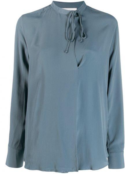 Блузка с длинным рукавом в полоску батник Incotex