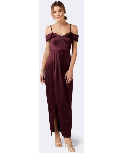 Вечернее платье бордовый весеннее Forever New
