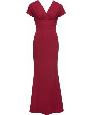 Вечернее платье макси красный Bonprix