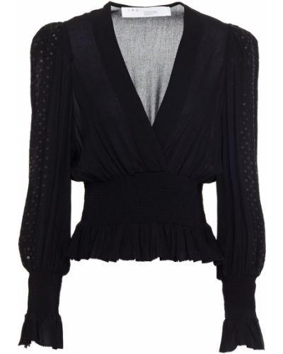 Bluzka z wiskozy - czarna Iro