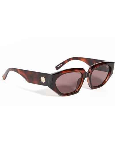 Солнцезащитные очки - золотые Le Specs
