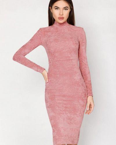 Розовое платье Gepur