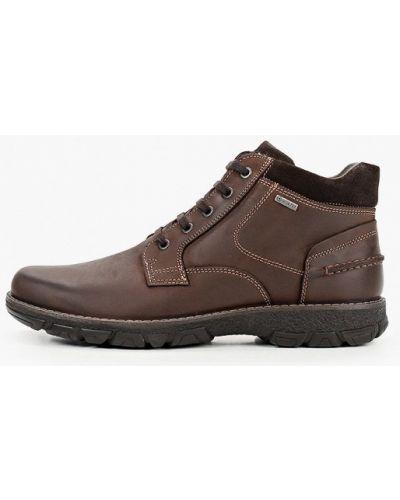 Кожаные ботинки - коричневые Salamander