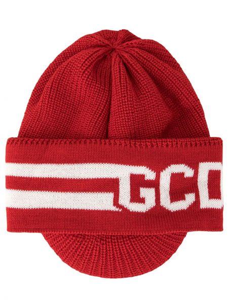 Kapelusz wełniany z logo Gcds