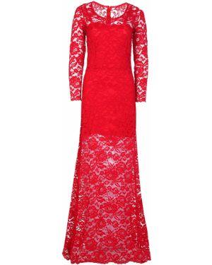 Асимметричное красное платье мини на молнии с вырезом Von Vonni