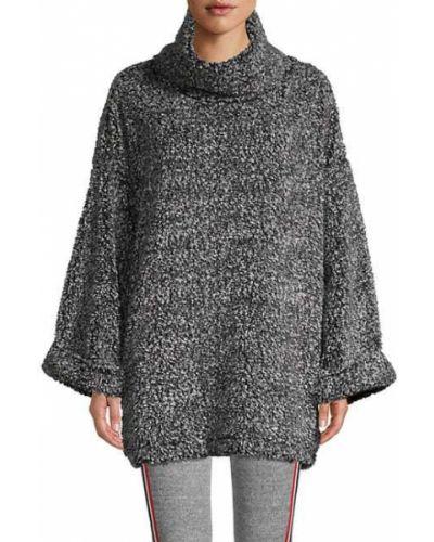 Длинный свитер с длинными рукавами с карманами Kendall + Kylie
