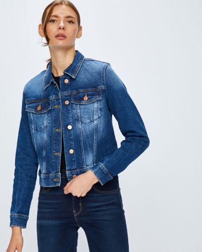Прямые джинсы укороченные с манжетами Guess Jeans
