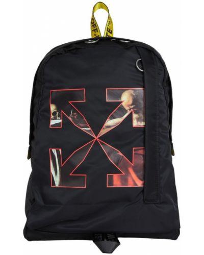 Czarny plecak na laptopa Off-white