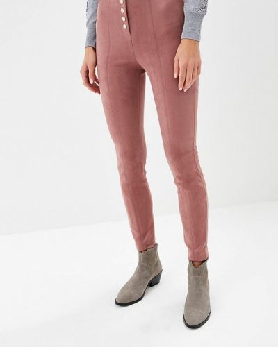 Розовые брюки повседневные Love Republic