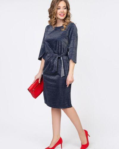 С рукавами трикотажное платье новогоднее Diolche