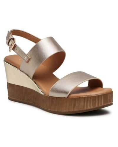 Złote sandały Ccc