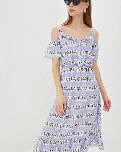 Платье прямое фиолетовый Tutto Bene