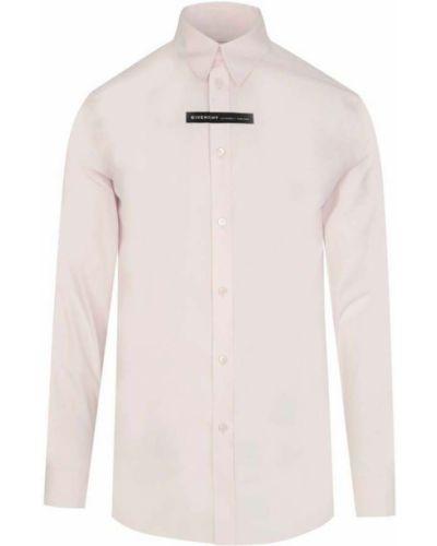Koszula z długimi rękawami - różowa Givenchy