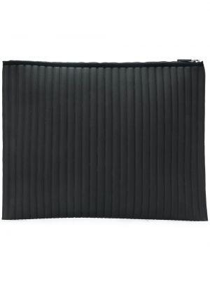 Темно-серый стеганый кошелек с заплатками No Ka 'oi
