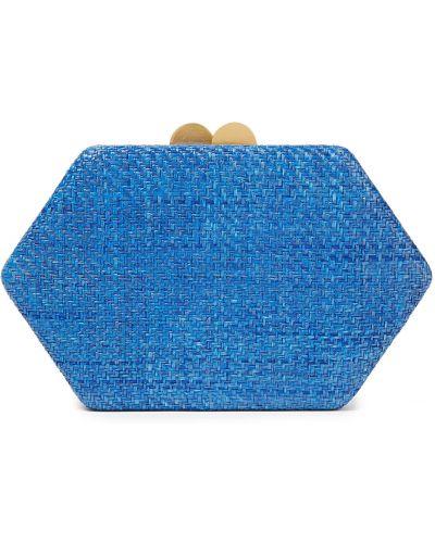 Niebieska złota sprzęgło na łańcuchu Kayu