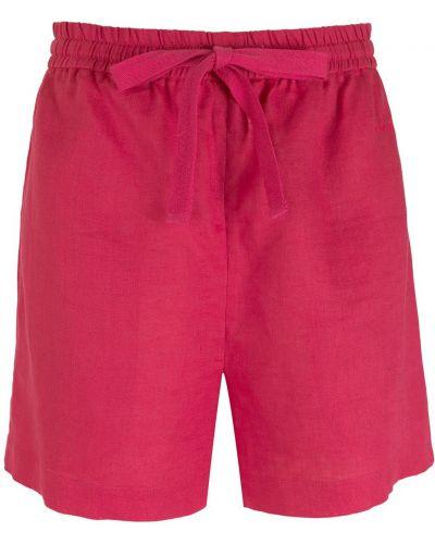 Свободные розовые шорты с карманами Nk