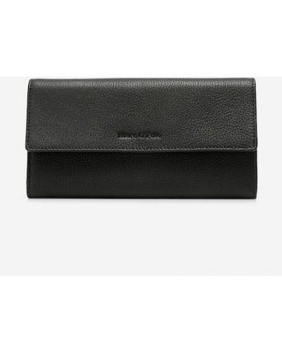 Czarny portfel elegancki Marc O Polo