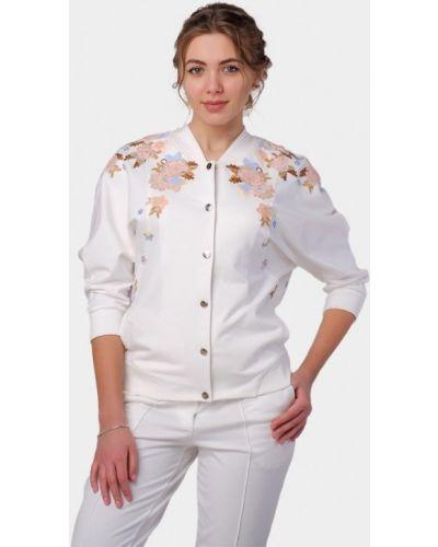 Куртка весенняя белая O&j